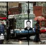 Cadences-Montréal, estampe numérique sur papier, 100 x 150 cm, 2005