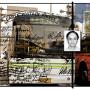 Cadences-Shanghai, estampe numérique sur papier, 100 x 150 cm, 2005