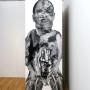 Abjection 1, estampe numérique sur papier monté sur foam core, 213 x 76 cm, Axe Néo7, 2003