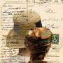 Chère amie, estampe numérique sur papier, 56 x 40 cm, 2008