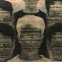Défis, transferts photo et huile sur feuilles d'or et papier, 40 x 56 cm, 1999