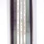 Et si le temps…, assemblage, acier, ciment, néon, transferts photo, inscriptions, 183 x 38 x 10 cm, 1999