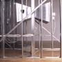 Interaction-forte, installation multimédia interactive,  vue de côté, détail, 2001