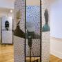 Pile ou face, installation estampes numériques sur papier, 200 x 80 cm chaque panneau, kaléidoscope, Centre d'artiste Voix Visuelle, 2007