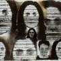 Realité, transferts photo et huile sur feuilles d'argent et papier,40 x 56 cm,1999