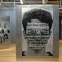Optique, détail, transferts photo et huile sur aluminium, galerie Montcalm, 1999