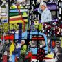 En ville, rue Rideau – impression numérique retouchée, 23 cm x 23 cm, 2021