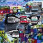 Passage – impression numérique retouhée, 23 cm x 23 cm, 2021